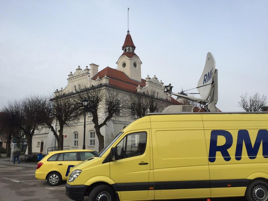 Działdowo: Jesteśmy na miejscu! /Piotr Bułakowski /RMF FM