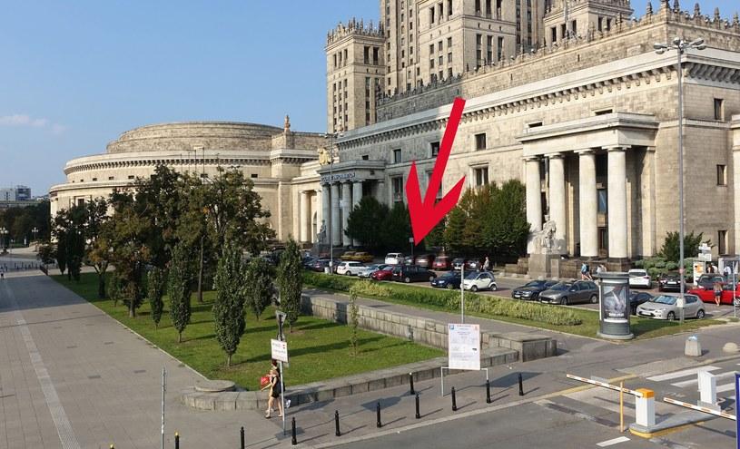 Działka przy placu Defilad w Warszawie /Wojtek Laski /East News