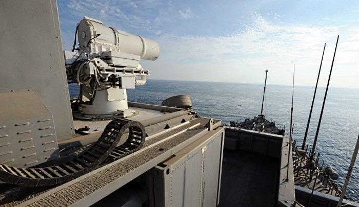 Działo laserowe za kilka lat może być stałym elementem uzbrojenia okrętów amerykańskiej marynarki /materiały prasowe