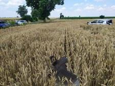 Działyń: Pijany prowadził auto. Wylądował w środku pola