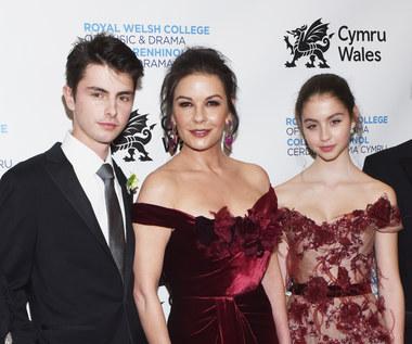 Dzieci Catherine Zeta-Jones i Michaela Douglasa chcą zostać aktorami