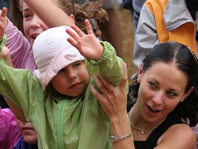 Dzieci i dorośli bawili się świetnie /INTERIA.PL