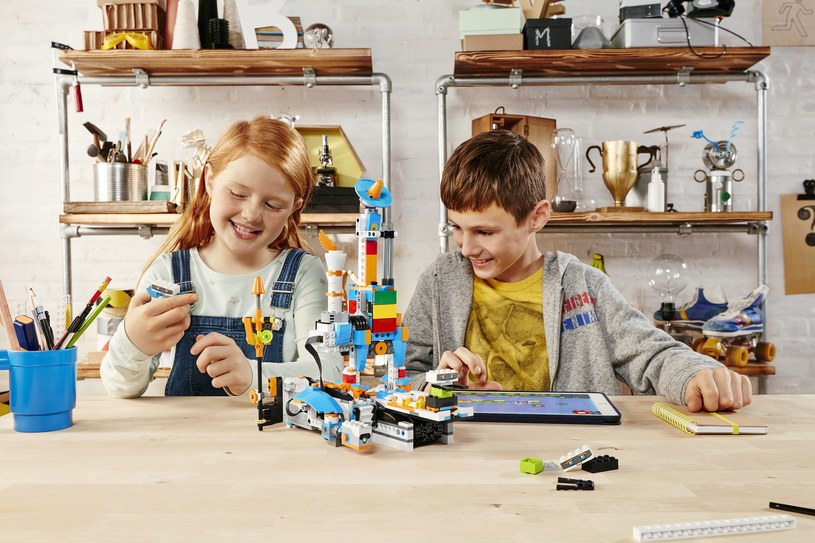 Dzieci kochają LEGO BOOST /materiały prasowe