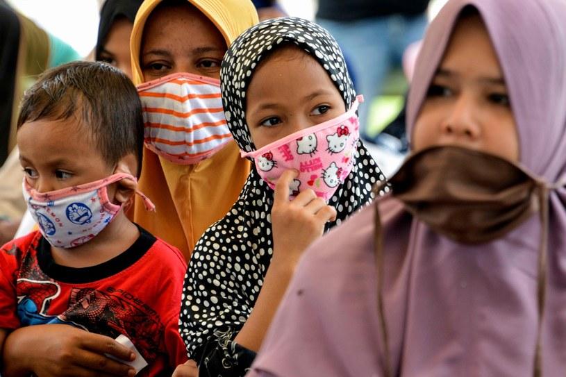 Dzieci mogą szczególnie ucierpieć z powodu koronawirusa - alarmuje UNICEF /AFP