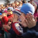 """Dzieci na wiecu Komorowskiego. """"Nadgorliwość gorsza od faszyzmu"""""""