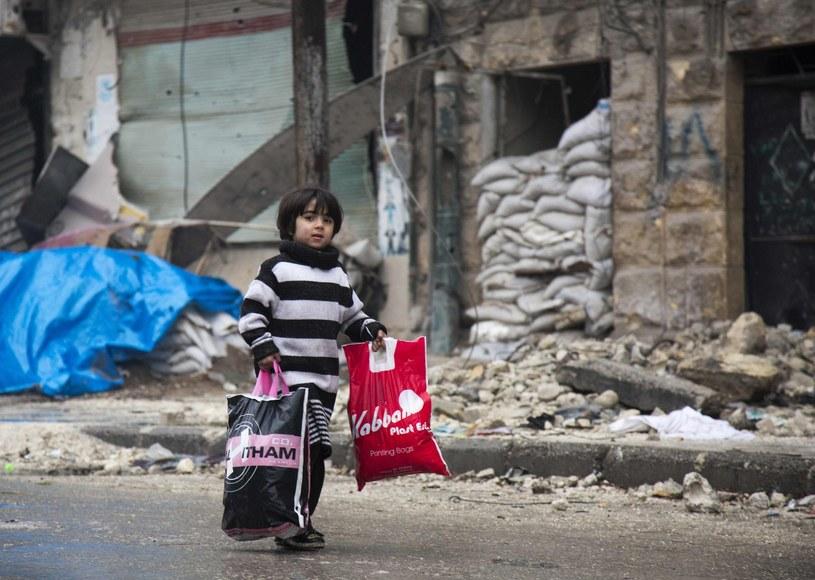 Dzieci w Aleppo nie opowiedzą nam swojej historii. Nie dożyją dorosłości /East News