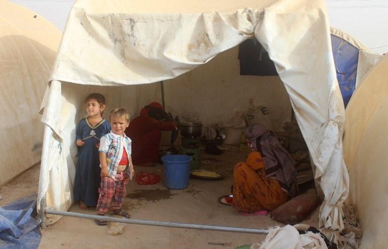 Dzieci w Faludży /AFP