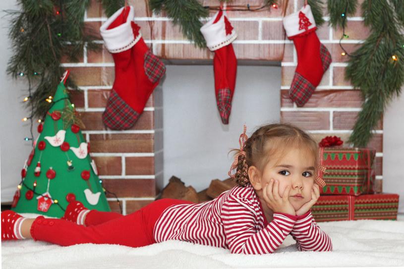 Dzieci w święta też czują się zestresowane /123RF/PICSEL