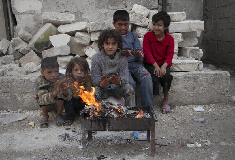 Dzieci w Syrii /AFP