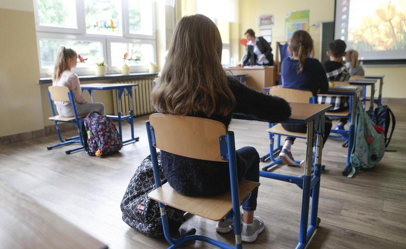 Dzieci w szkole, zdjęcie ilustracyjne /Krzysztof Kapica/Polska Press /East News