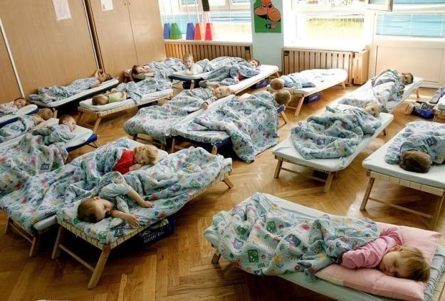 Dzieci w żłobku / fot. G. Press /Reporter