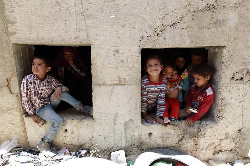 Dzieci z Jemenu /AFP