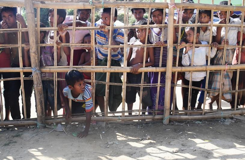 Dzieci z mniejszości Rohingja /AFP