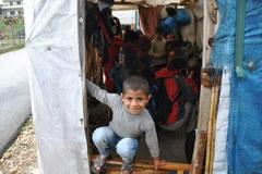 Dzieci z przedmieścia libańskiego Tripoli