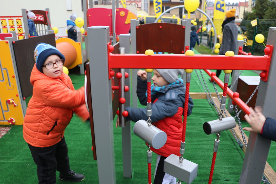 Dzieci z przedszkola Rozwijanka będą w końcu mieć swój plac zabaw! /Jacek Skóra /RMF FM