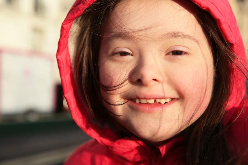 Dzieci z zespołem Downa są wyjątkowe /123RF/PICSEL