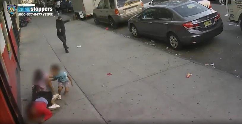 Dzieci znalazły się w śmiertelnej pułkapce /NYPD News /materiały prasowe