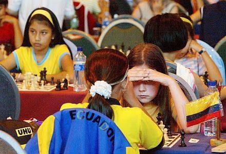 Dziecięce Szachowe Mistrzostwa Świata w Belfort /AFP