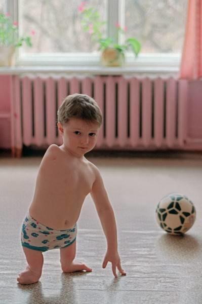 Dziecko Czarnobyla /AFP