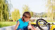 Dziecko nie musi mieć blizn po wakacjach