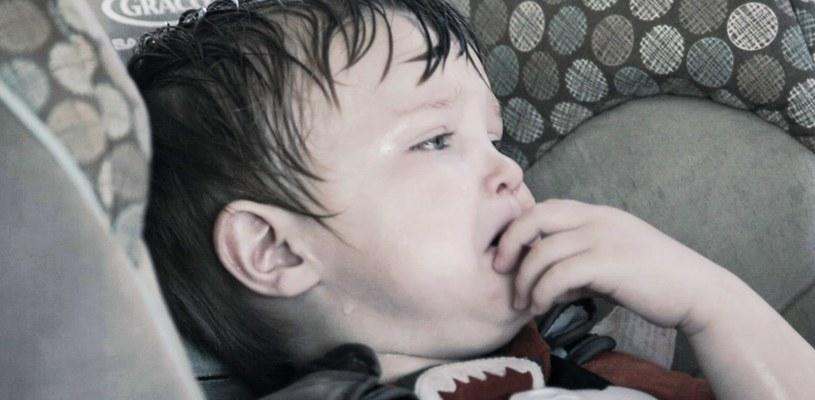 Dziecko pozostawione w nagrzanym aucie, fot. kampania One Decision /