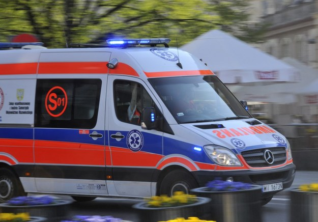 Dziecko zginęło, ojciec w ciężkim stanie /Włodzimierz Wasyluk /Reporter