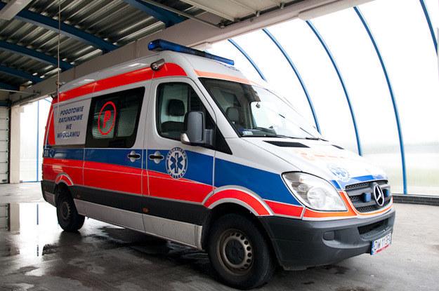 Dziecko zmało w szpitalu /RMF FM
