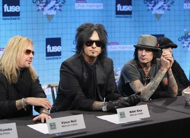 """Dzieje Mötley Crüe zostaną pokazane w filmie na podstawie autobiografii """"Brud"""" - fot.Neilson Barnard /Getty Images/Flash Press Media"""