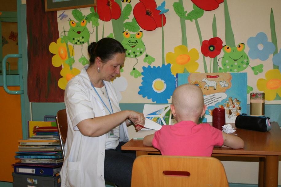 Dzięki fundacji kilka tysięcy dzieci zostąło wyleczonych z choroby nowotworowej /Maciej Grzyb /RMF FM