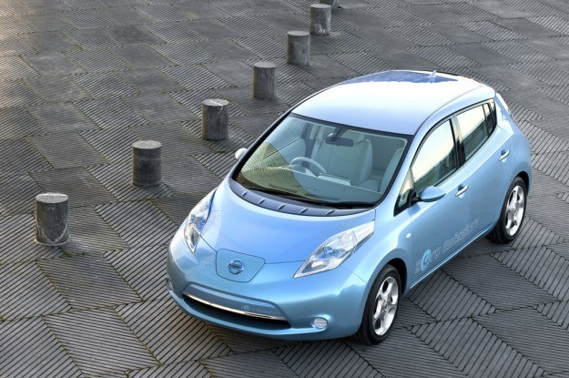 Dzięki leafowi Nissan zanotował znaczy skok /