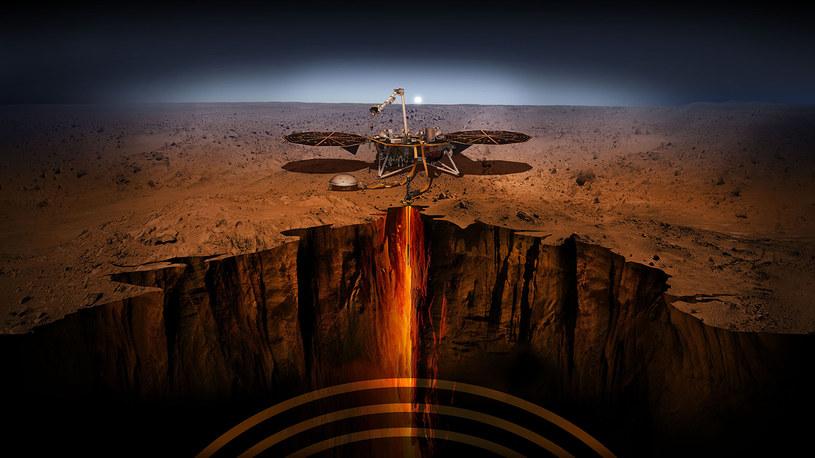 Dzięki misji dowiemy się, co kryje się we wnętrzu Marsa. Fot. NASA /materiały prasowe