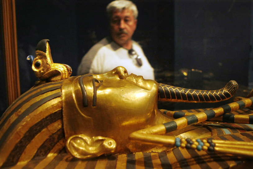 Dzięki nowej technice można badać mumie bez otwierania sarkofagów /AFP