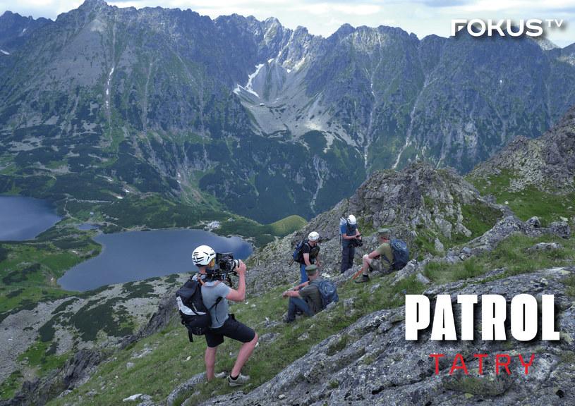 """Dzięki """"Patrolowi Tatry"""" widzowie mogą poznać pracę tych, którzy strzegą naszych gór /materiały promocyjne"""