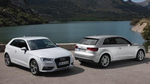 Dzięki przesunięciu silnika i obróceniu go o 12 st., A3 ma krótszy o 4 cm przedni zwis i lepiej się prowadzi. /Audi