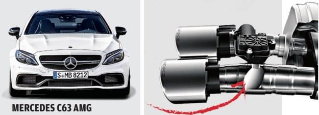 Dzięki regulacji kąta otwarcia klapki można sterować głośnością wydechu - dopasować ją do stylu jazdy. /Motor
