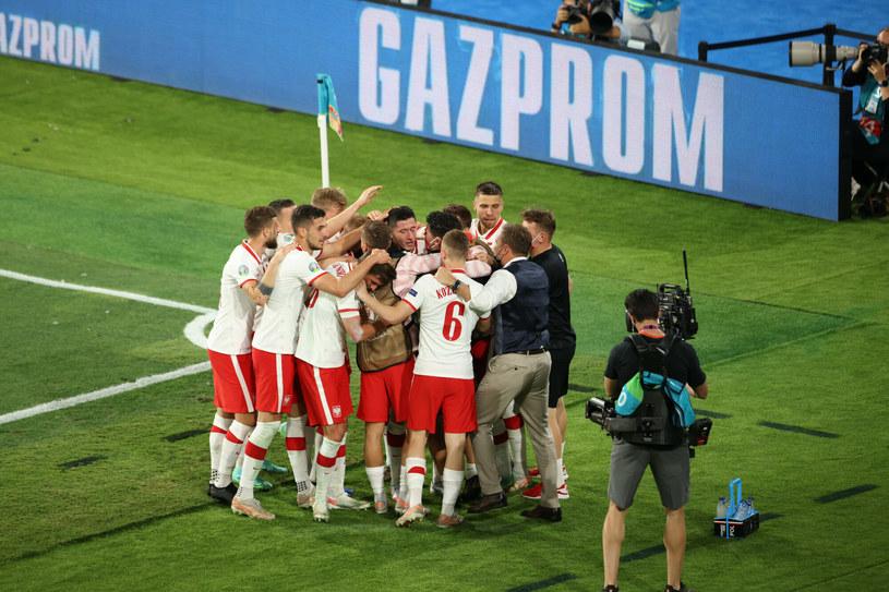 Dzięki remisowi z Hiszpanią Polacy są dalej w grze o awans z grupy /Andrzej Iwanczuk /Reporter /East News