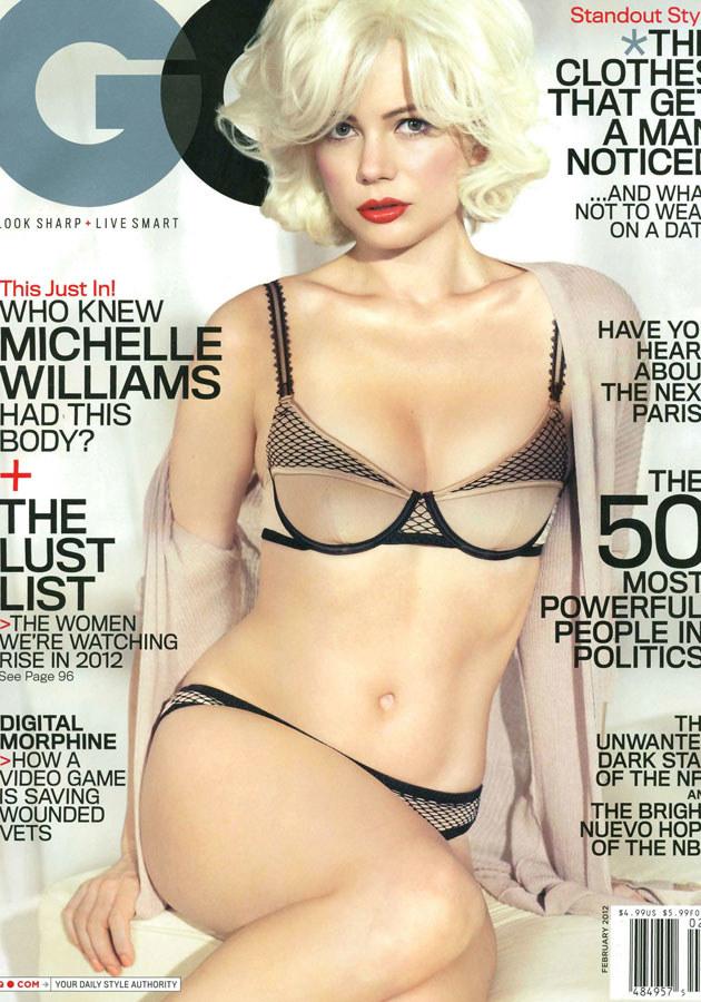 Dzięki roli Marylin Monroe Michelle trafiła na okładki wszystkich najważniejszych czasopism w Stanach. /Splashnews