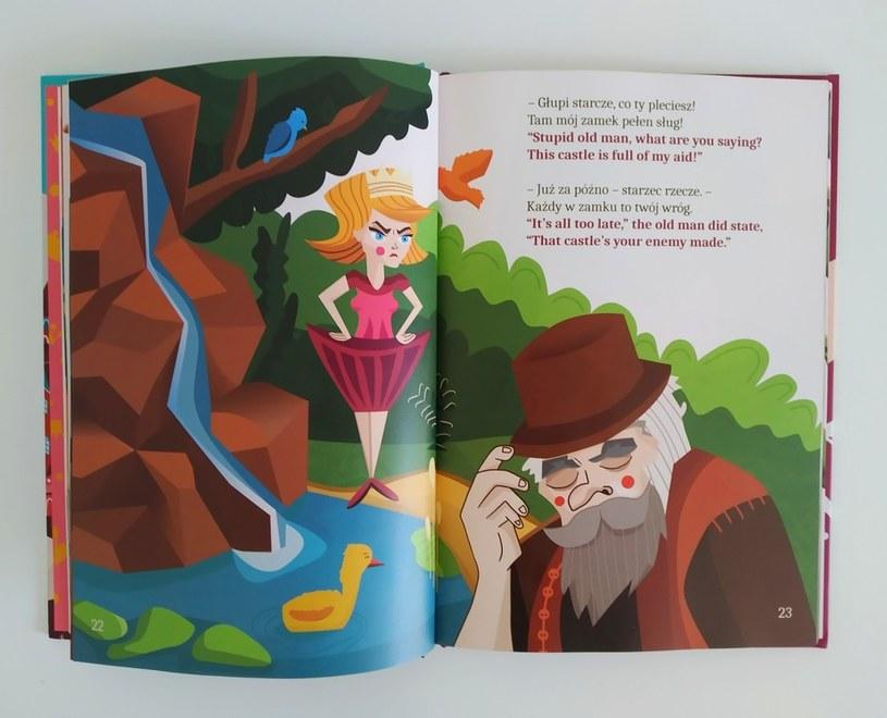 Dzięki takiej książce dziecko łatwiej nauczy się języka /123RF/PICSEL