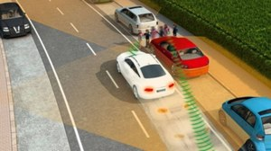 Dzięki temu systemowi nasz samochód automatycznie zahamuje przed pieszym