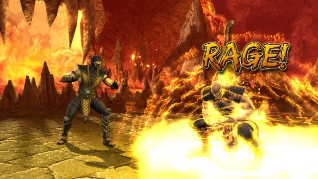 Dzięki trybowi Rage z łatwością możemy pokonać każdego przeciwnika /INTERIA.PL