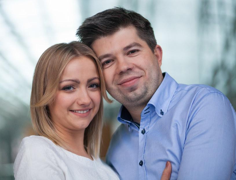 """Dzięki udziałowi w """"Rolnik szuka żony"""" Paweł Szakiewicz związał się z Natalią, ale ten związek nie przetrwał próby czasu /Agencja FORUM"""