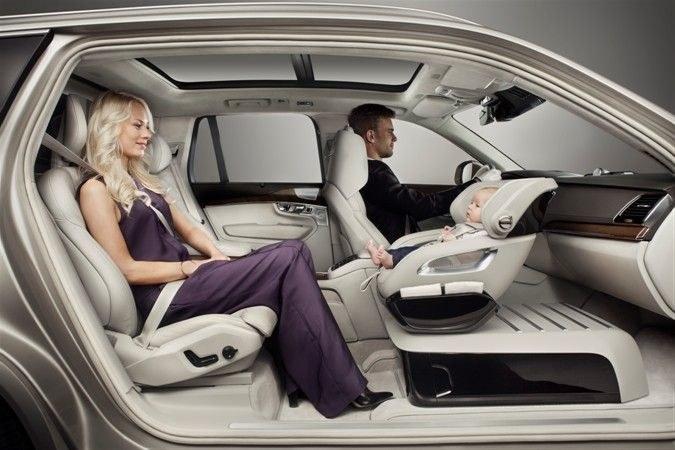 Dzięki Volvo, podróżowanie z dziećmi będzie wygodniejsze dla wszystkich /materiały prasowe