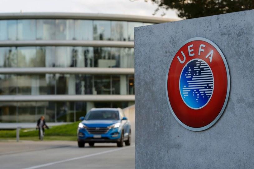 """""""Dziękujemy CAS za konsekwencję"""" - napisano w oficjalnym komunikacie UEFA /AFP"""