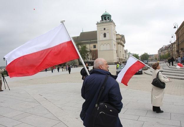 Dzień Flagi RP / fot. J. Wajszczak /Reporter