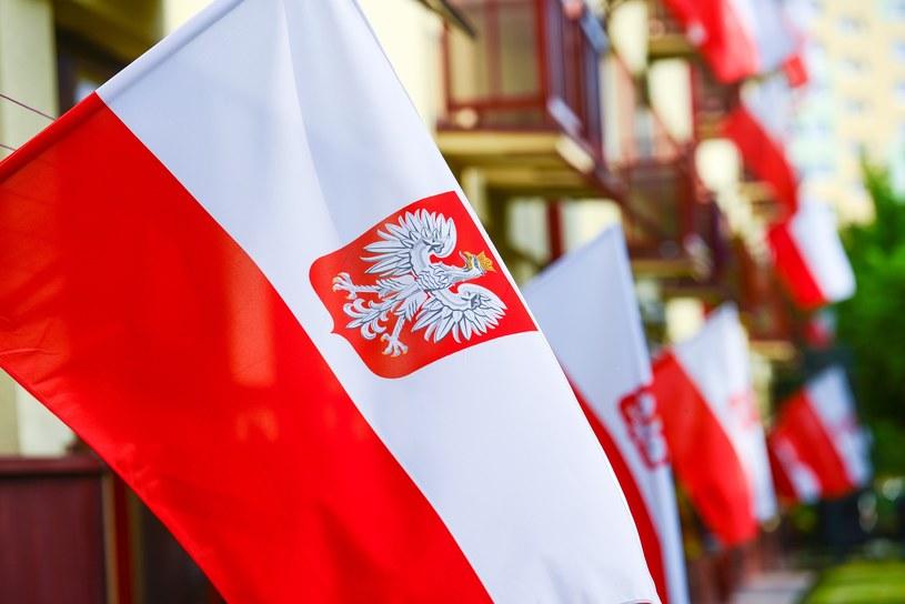 Dzień Flagi Rzeczypospolitej Polskiej jest świętem państwowym /Adam Staśkiewicz /East News
