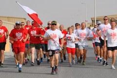 Dzień Flagi z RMF FM: Do akcji przyłączyli się żołnierze z polskiego kontyngentu w Kuwejcie
