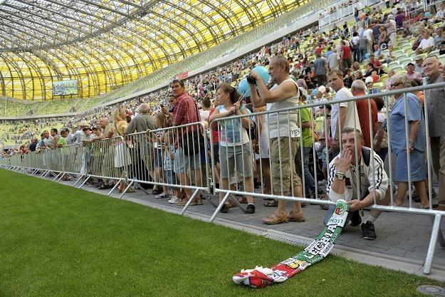 Dzień otwarty na stadionie PGE Arena w Gdańsku Fot. Adam Warżawa /PAP