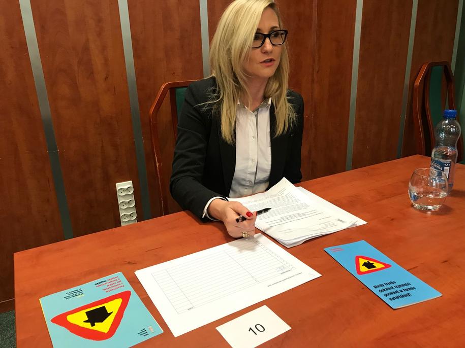 Dzień otwarty notariatu w Szczecinie /Aneta Łuczkowska /RMF FM