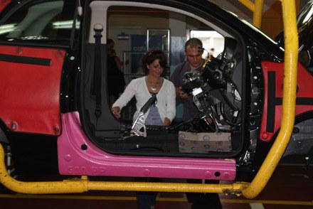 Dzień rodzinny w tyskiej fabryce Fiata /INTERIA.PL