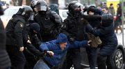 Dzień Wolności na Białorusi: Milicja rozbiła protest, setki zatrzymanych